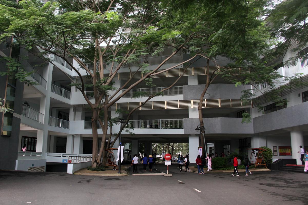 Đại học Tôn Đức Thắng, cơ sở tại TP HCM, quận 7. Ảnh: Mạnh Tùng.