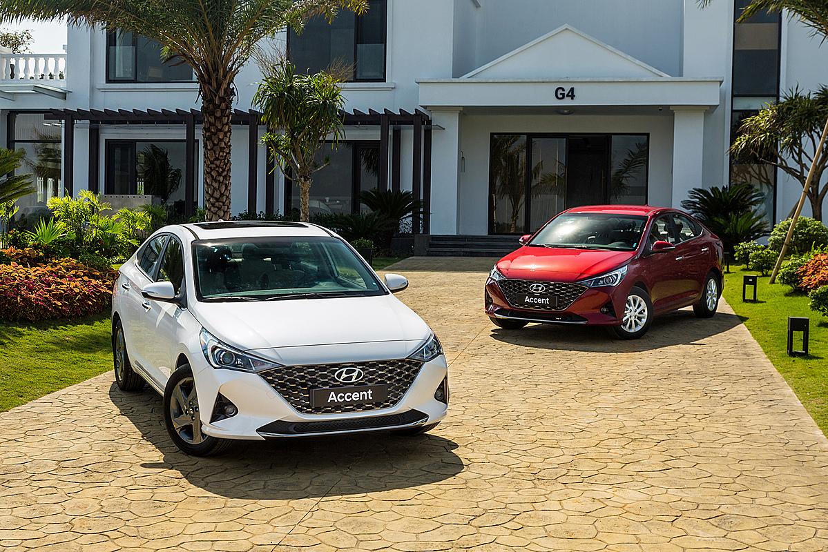 Hyundai Accent 2020 tại Việt Nam. Ảnh: TC Motor
