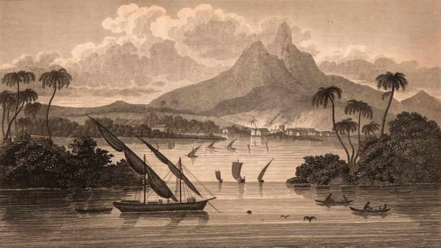 Ảnh minh họa trong cuốn cẩm nang hướng dẫn du lịch tới Poyais, quốc gia do MacGregor hư cấu. Ảnh: Wikimedia Commons.