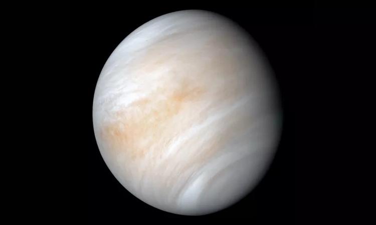 Sao Kim - mục tiêu nghiên cứu của tàu vũ trụ Shukrayaan. Ảnh: NASA/JPL-Caltech.
