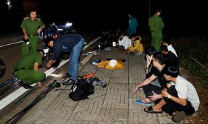 Nhóm thanh thiếu niên sắp hỗn chiến bị bắt giữ