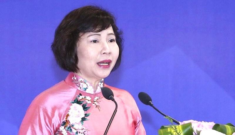 Bà Hồ Thị Kim Thoa. Ảnh: TTX
