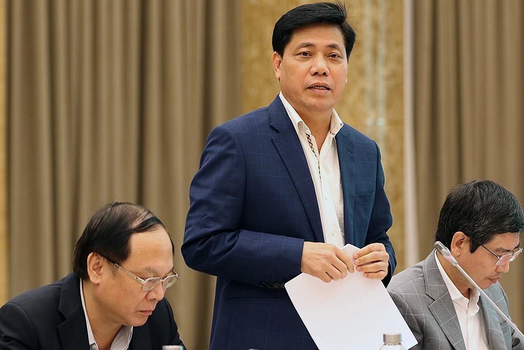 Thứ trưởng Giao thông Vận tải Nguyễn Ngọc Đông. Ảnh: Đình Trung
