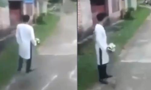 Chú rể chạy đi tìm nhẫn cưới - 3