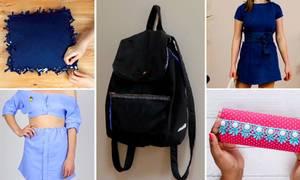 5 cách tận dụng quần áo cũ