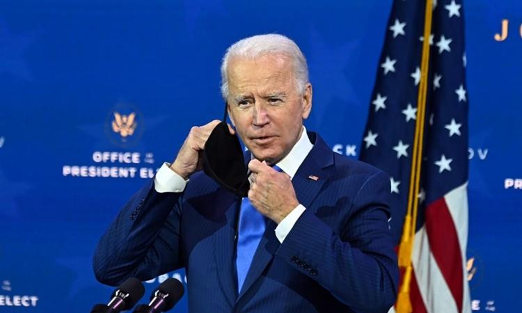 Tổng thống đắc cử Joe Biden tại Wilmington, Delaware, hôm 1/12. Ảnh: AFP.