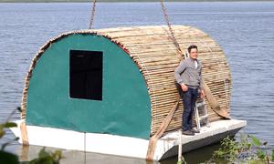 Kỹ sư chế tạo nhà vượt lũ cho người dân vùng lụt