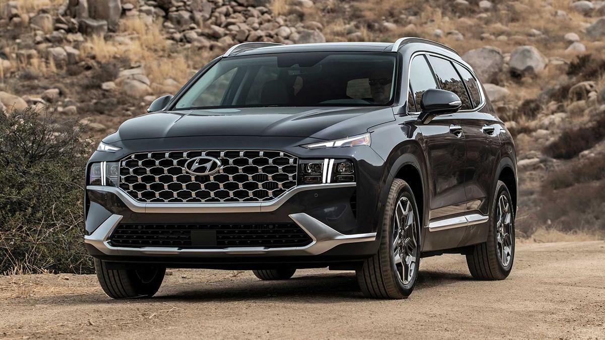 Hyundai Santa Fe 2021 bản cao nhất giá hơn 43.000 USD - VnExpress
