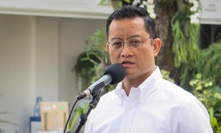 Bộ trưởng các Vấn đề Xã hội Indonesia Juliari Batubara. Ảnh: CNN Indonesia.