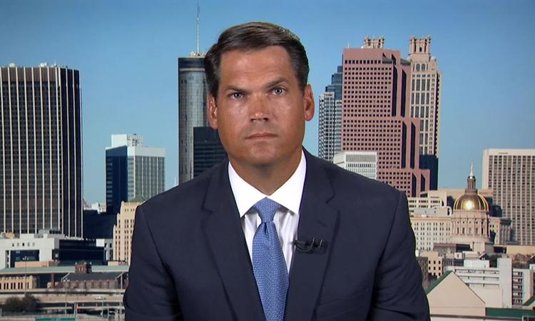Phó thống đốc Georgia Geoff Duncan trong cuộc phỏng vấn với CNN hôm 16/6. Ảnh: CNN.