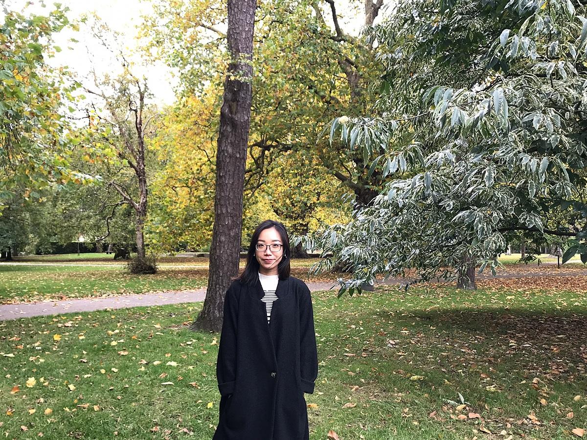 Mai Linh theo học Thạc sĩ ngành Truyền thông và Báo Chí tại Đại học Cardiff. Ảnh: Mai Linh.