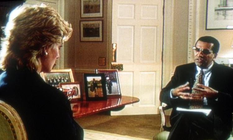 Công nương Diana trả lời phỏng vấn nhà báo Martin Bashir năm 1995. Ảnh: BBC.