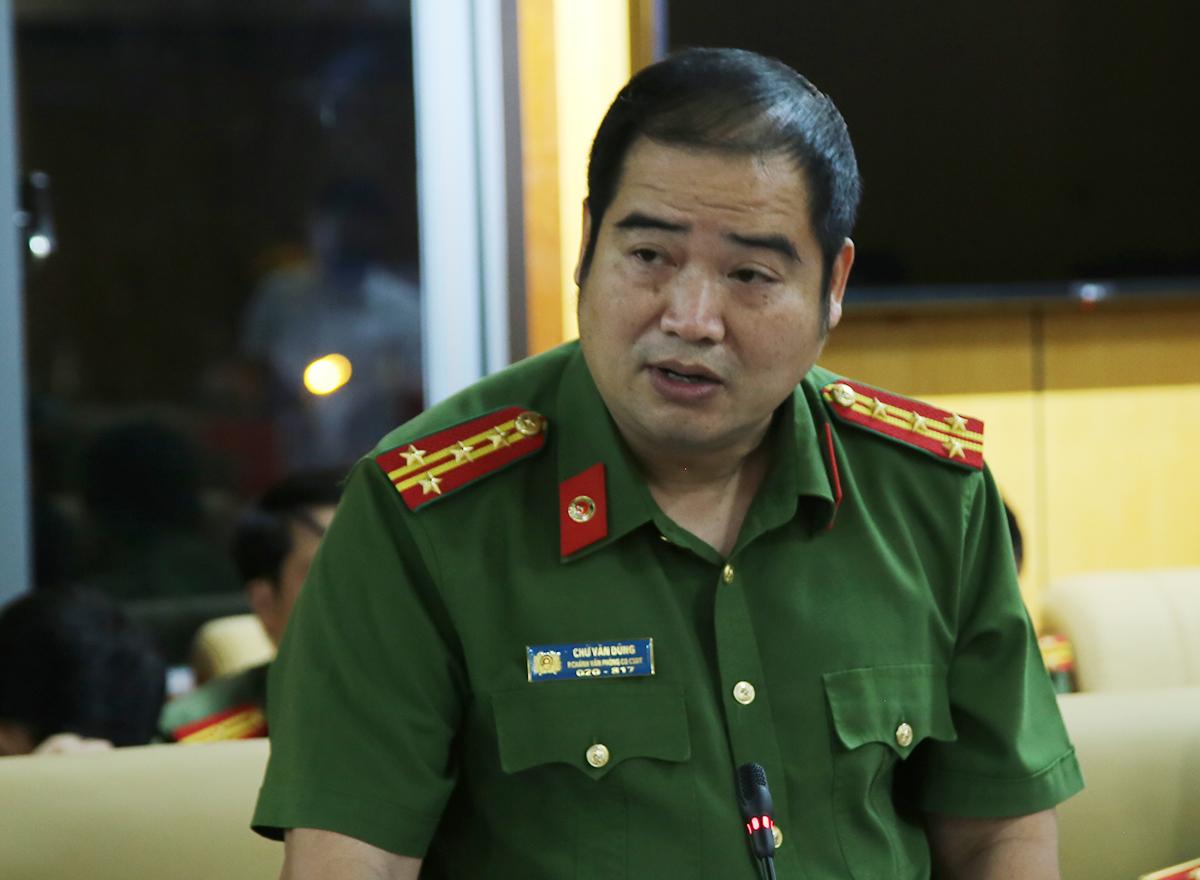 Đại tá Chữ Văn Dũng. Ảnh: Quốc Thắng.