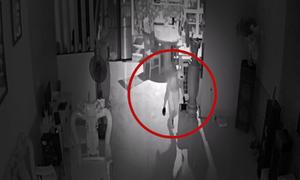 Cô gái phát hiện trộm đột nhập giữa đêm
