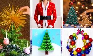 5 mẹo làm đồ trang trí Giáng Sinh