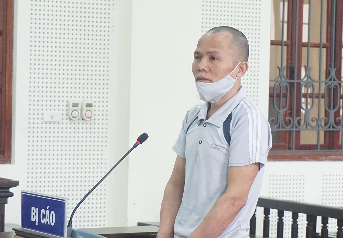 Bị cáo Ngân Văn Đại tại tòa.