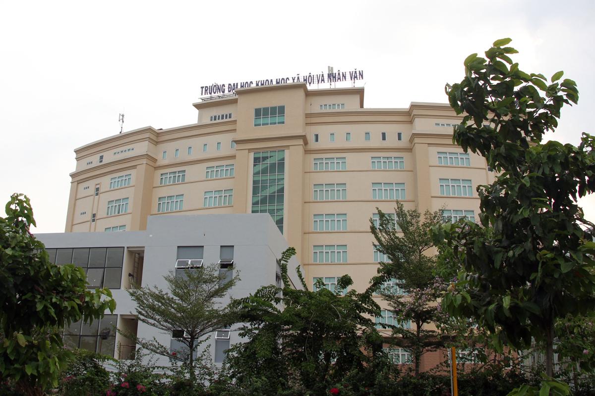 Cơ sở Thủ Đức trường Đại học Khoa học xã hội và Nhân văn TP HCM. Ảnh: Mạnh Tùng.