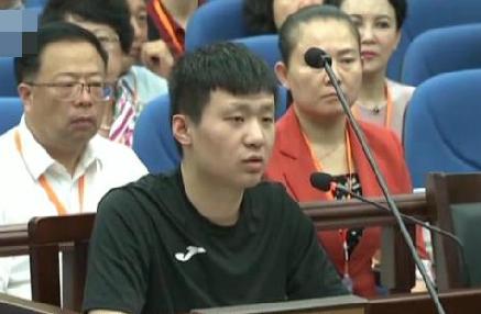 Vu Hoan tại tòa năm 2017. Ảnh: CCTV.