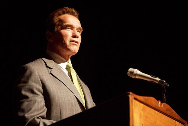 Arnold Schwarzenegger, cựu thống đốc bang California, Mỹ. Ảnh: TJ Taylor