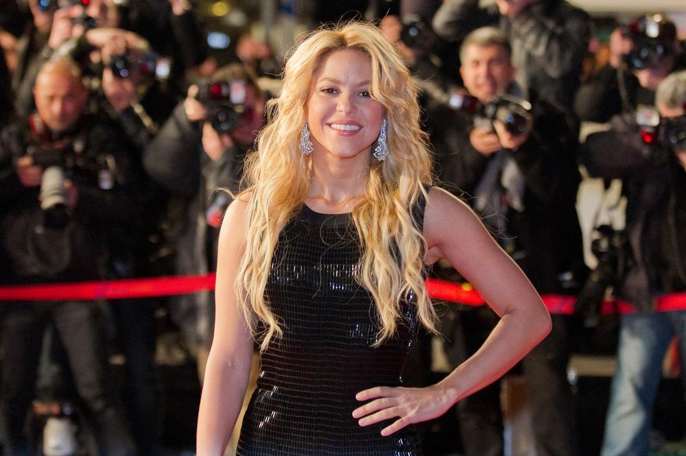 Ca sĩ Shakira. Ảnh: Shutterstock