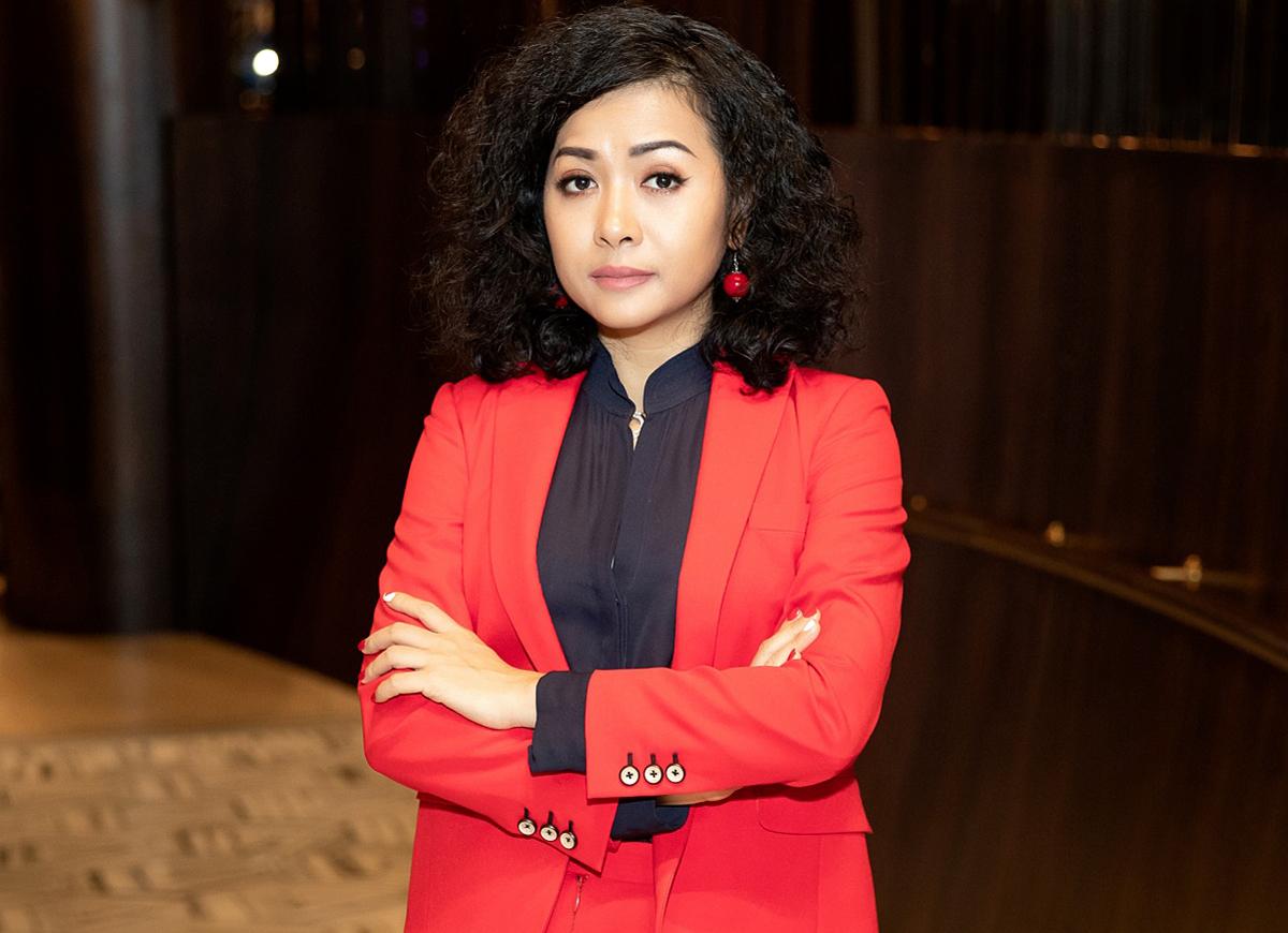 Bà Trần Uyên Phương - Phó tổng giám đốc Tân Hiệp Phát.