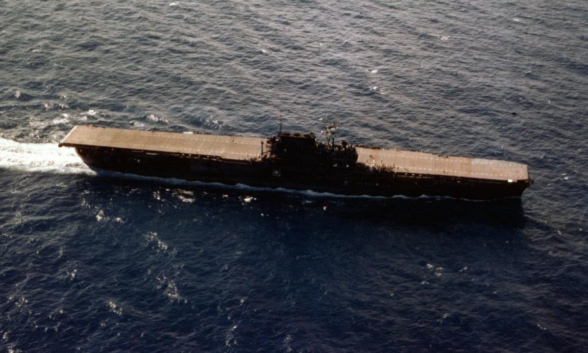 USS Enterprise di chuyển trên Thái Bình Dương giữa năm 1941. Ảnh: US Navy.