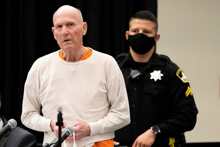 Joseph DeAngelo nhận tội giết 13 phụ nữ và nhận án chung thân không ân xá vào tháng 8. Ảnh: Reuters.