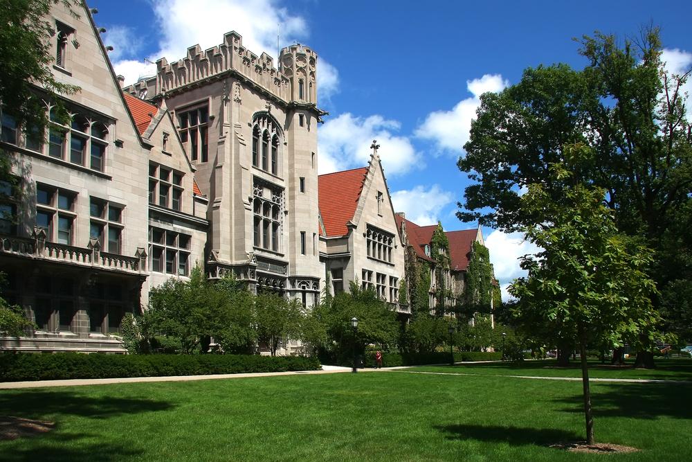 Đại học Chicago, trường có điểm SAT trung bình của sinh viên cao nhất tại Mỹ. Ảnh: Shutterstock