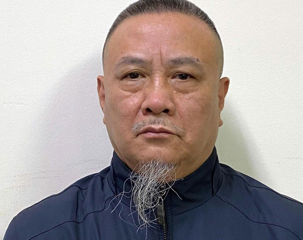 Đặng Thúc Kháng, bị can duy nhất bị bắt. Ảnh: Bộ Công an