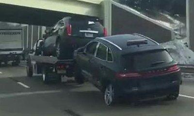 Xe cứu hộ kéo ôtô tai nạn trơ vành