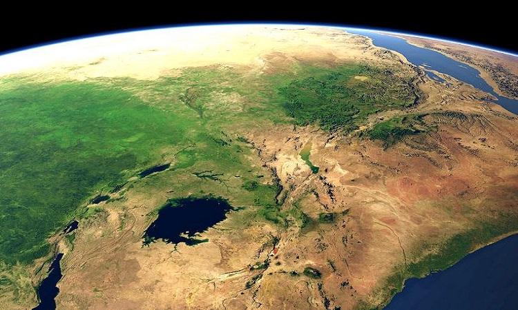 Pangea là siêu lục địa gần đây nhất trong lịch sử Trái Đất. Ảnh: Imagico.