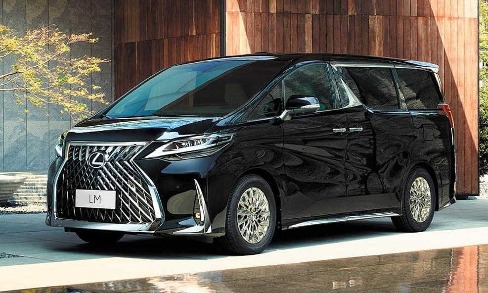 LM350 là một trong số những mẫu Lexus đắt nhất. Ảnh: Lexus