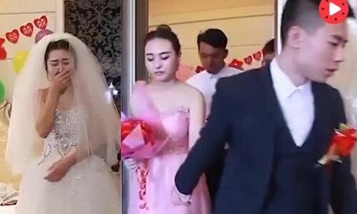 Chú rể bỏ đi vì cô dâu không cảm xúc - 2