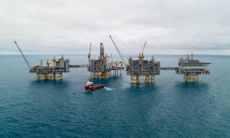 Các tập đoàn dầu khí sẽ giúp Na Uy bơm CO2 hóa lỏng xuống dưới Biển Bắc. Ảnh: Lundin Energy.