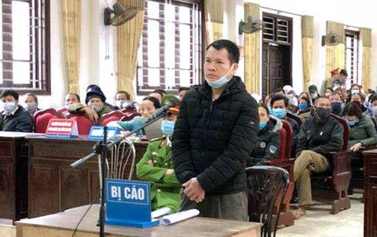 Bị cáo Hạnh tại phiên xử. Ảnh: Hùng Lê