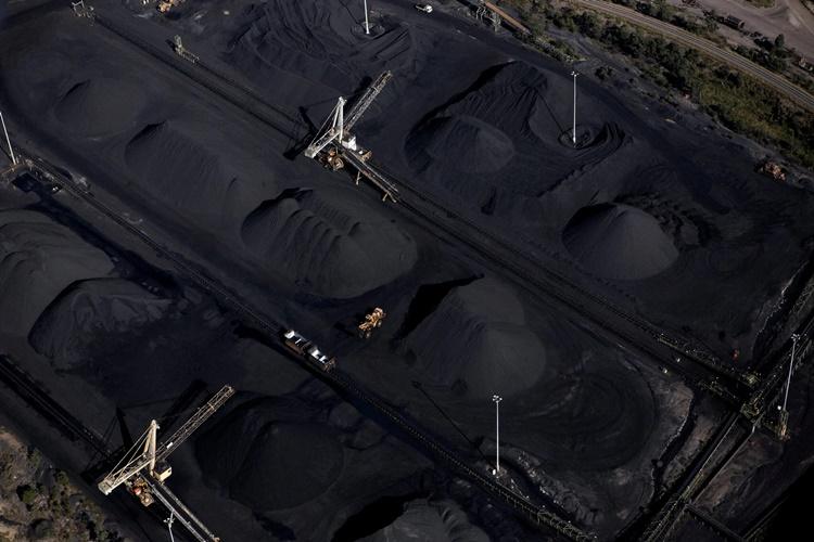 Mỏ than Collinsville ở Queensland, Australia, nhìn từ trên cao. Ảnh: NYTimes.
