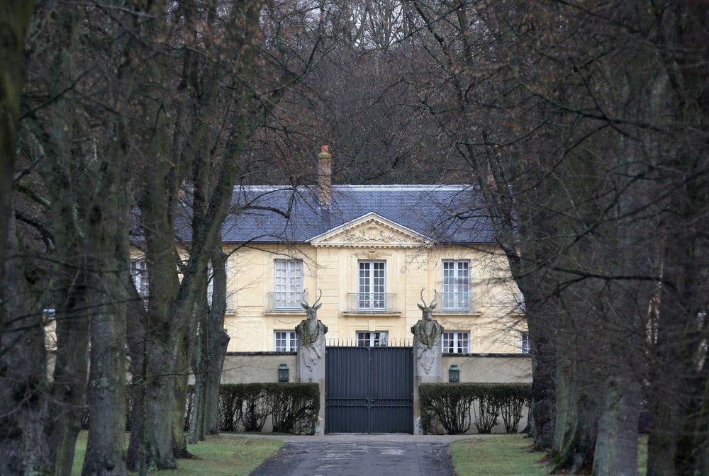 Biệt thự tổng thống Pháp La Lanterne ở thành phố Versailles năm 2014. Ảnh: AP.