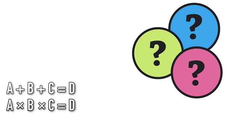 A, B, C lần lượt là số mấy?
