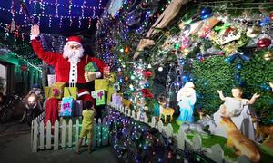 Giáo dân Sài Gòn trang hoàng đón Giáng Sinh