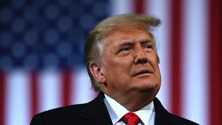 Tổng thống Trump tại mít tinh ở Georgia ngày 7/12. Ảnh: AFP.
