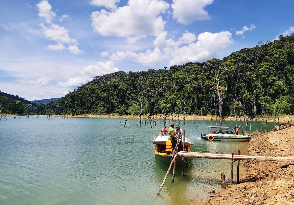 Khu bảo tồn thiên nhiên sông Thanh có diện tích hơn 76.000 ha, với hơn 830 loài thực vật bậc cao sinh sống. Ảnh: Đắc Thành.