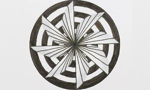 Vẽ trang trí hình tròn với hiệu ứng 3D