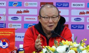 Ông Park: 'Chưa thể thay thế lối chơi của tuyển Việt Nam'