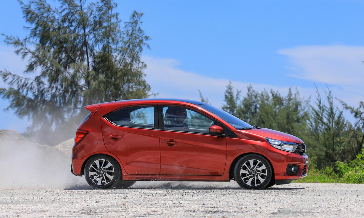 Mẫu xe cỡ A Honda Brio bán nhiều nhất tháng 11 tại thị trường Indonesia. Ảnh: Lương Dũng