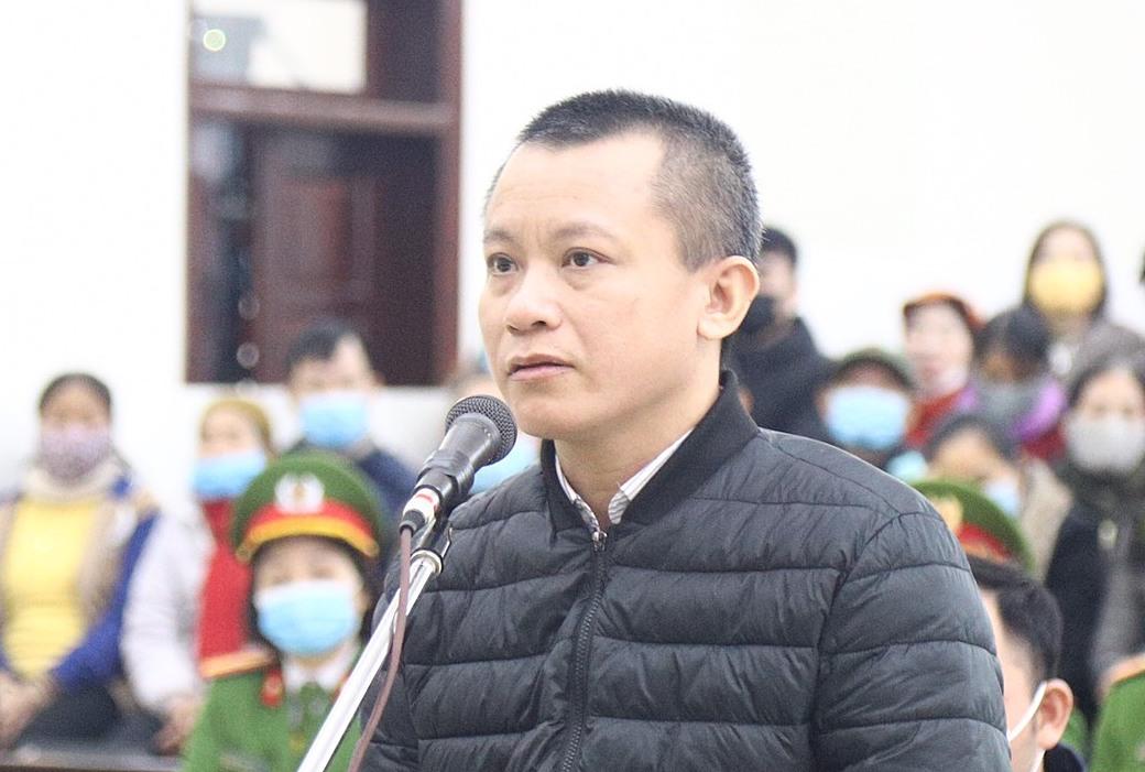 Bị cáo Trịnh Xuân Sáng. Ảnh: Thanh Danh.