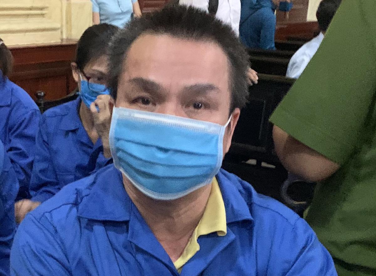 Bị cáo Bùi Minh Chính tại toà chiều 22/12. Ảnh: Dương Trang.
