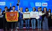 ĐH Sư phạm Kỹ thuật TP HCM giành giải nhất cuộc thi khởi nghiệp