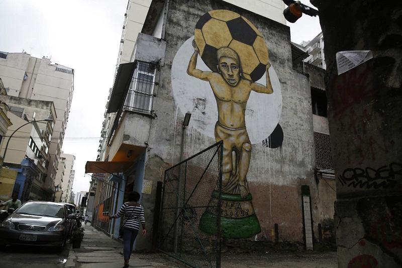 Một góc ở thành phố Rio de Janeiro, Brazil. Ảnh: Reuters.