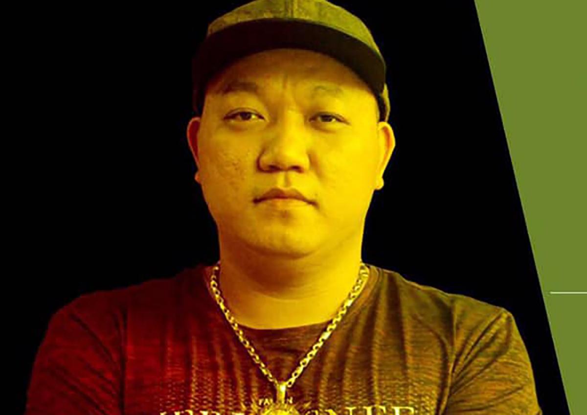 Lê Thanh Ngọc trước khi bị bắt. Ảnh: Facebook nhân vật.
