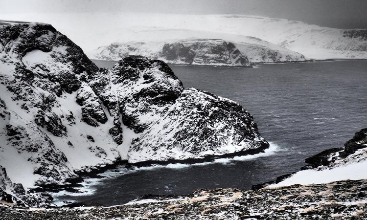 Biển Barents, một phần của Bắc Băng Dương nằm giữa bờ biển Na Uy và Nga. Ảnh: CNS.